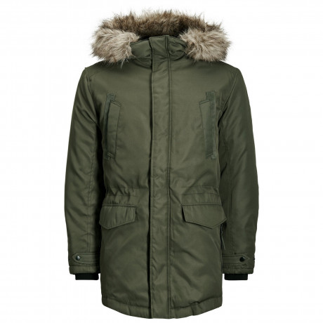 Jack & Jones Parka Padded Jacket Rosin | Jean Scene
