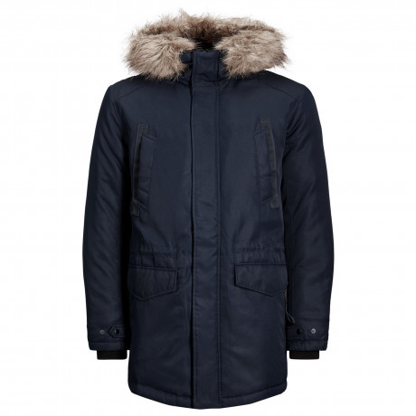 Jack & Jones Parka Padded Jacket Sky Captain | Jean Scene