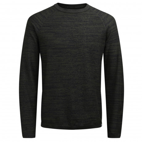 Jack & Jones Crew Neck Cotton Smash Jumper Rosin | Jean Scene