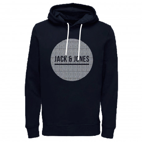 Jack & Jones Overhead Men's Bak Hoodie Sky Captain | Jean Scene