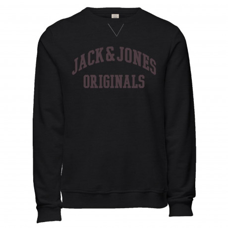 Jack & Jones Crew Neck Logo Sweatshirt Men's Patch Tap Shoe | Jean Scene