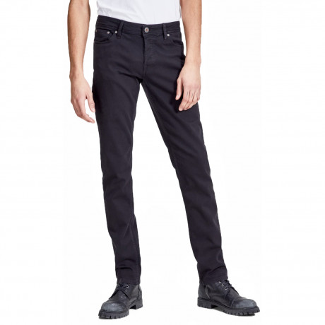 Jack & Jones Glenn Slim Fit Chino Jeans Black | Jean Scene