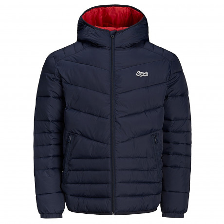 Jack & Jones Light Puffer Jacket Total Eclipse | Jean Scene
