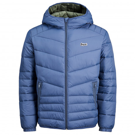 Jack & Jones Light Puffer Jacket Vintage Blue | Jean Scene