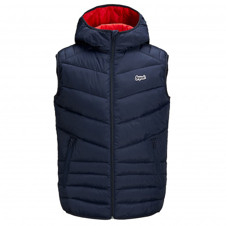 Jack & Jones Light Puffer Gilet Total Eclipse | Jean Scene