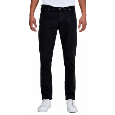 Jack & Jones Glenn Original Slim Fit Denim Jeans 001 Black | Jean Scene