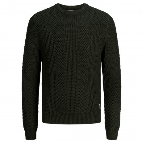 Jack & Jones Crew Neck Cotton Stanford Jumper Rosin | Jean Scene