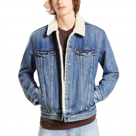 Levis Type 3 Sherpa Men's Jacket Needle Park | Jean Scene