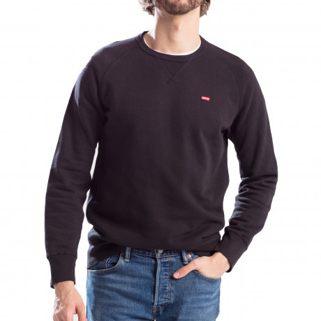 Levis Original Icon Sweatshirt Black | Jean Scene