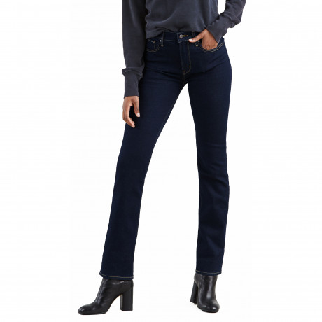 Levis 724 Women's High Rise Straight Stretch Jeans To The Nine | Jean Scene