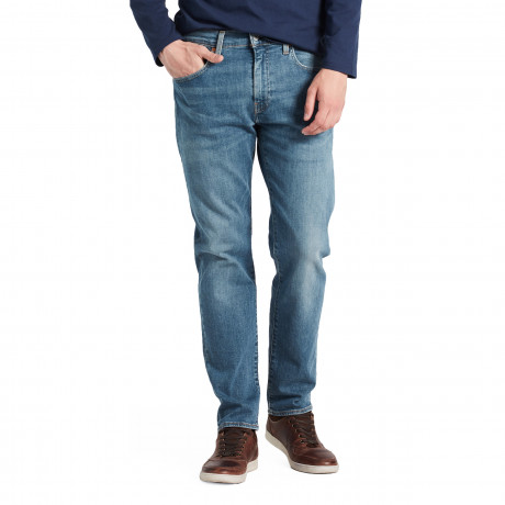 Levis 502 Denim Jeans Dark Blue Green Beer Adv | Jean Scene