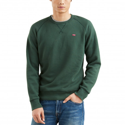 Levis Original Icon Sweatshirt Python Green | Jean Scene
