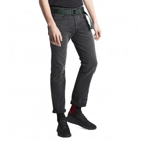 Levis 501 Denim Jeans Solice Grey | Jean Scene