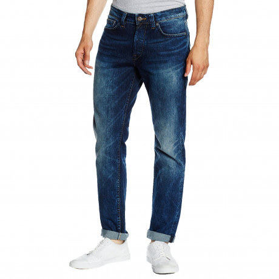 Only & Sons Weft Regular Fit Denim Jeans 3944 Mid Blue   Jean Scene