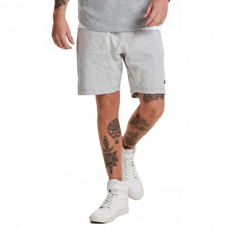 Only & Sons Men's Huxi Sweat Jog Shorts Grey | Jean Scene