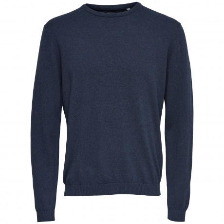 Only & Sons Men's Alex Jumper Dark Navy | Jean Scene