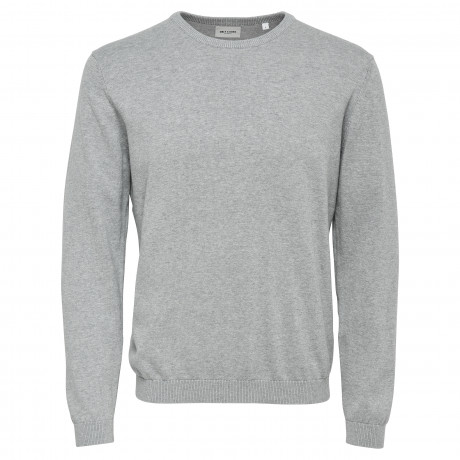 Only & Sons Men's Alex Jumper Medium Grey | Jean Scene