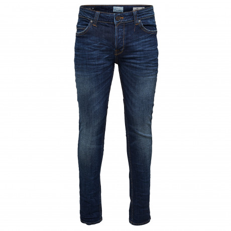 Only & Sons Loom Slim Fit Denim Jeans 6971 Dark Blue | Jean Scene
