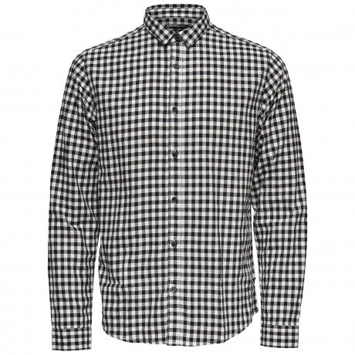 Only & Sons Originals Slim Gordey Long Sleeve Shirt Cloud Dancer | Jean Scene