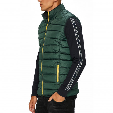 Only & Sons Gilet Bodywarmer Darkest Spruce | Jean Scene