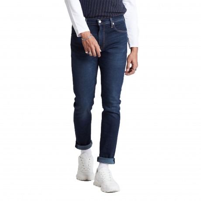 Levis 512 Denim Jeans Dark Blue Sage Od Subtle Adv Tnl | Jean Scene