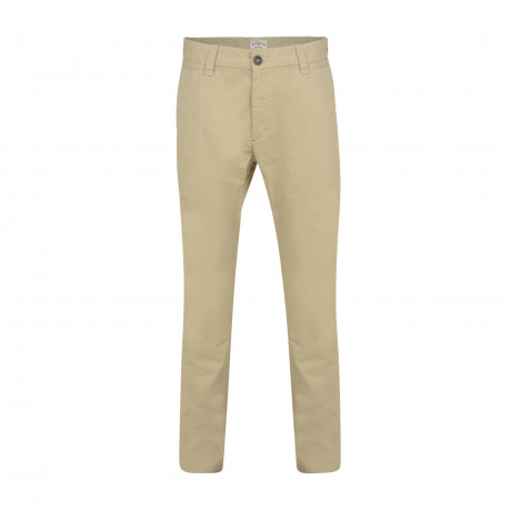 Lee Cooper Coburn Slim Fit Cotton Chinos Khaki | Jean Scene