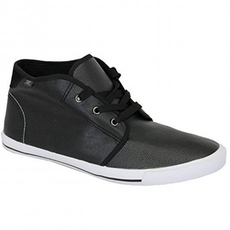 Rock & Religion Synthetic Sloan Chukka Boots Black