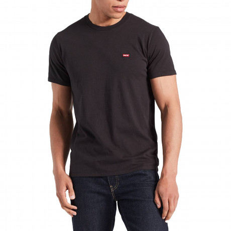 Levis Original HM Men's T-Shirt Black | Jean Scene