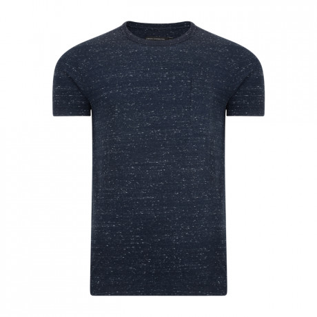 French Connection Granite Grindle Summer T-shirt Marine Blue | Jean Scene