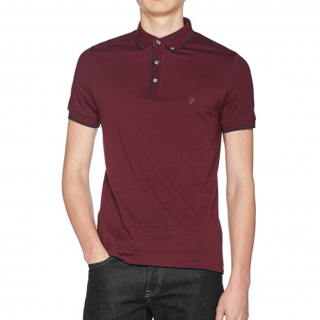 French Connection Polo Shirt Bordeaux | Jean Scene