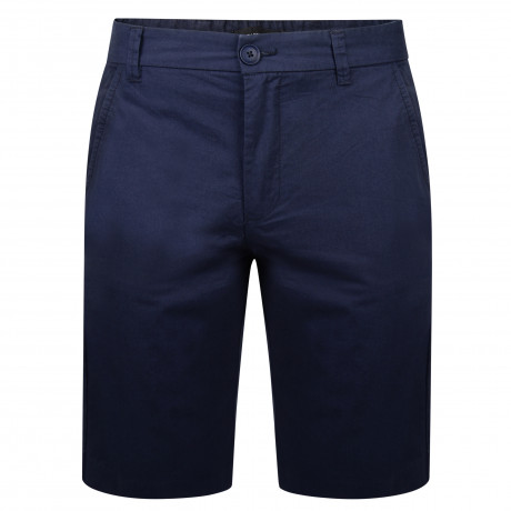 French Connection Chino Slim Fit Cotton Shorts Marine Blue | Jean Scene