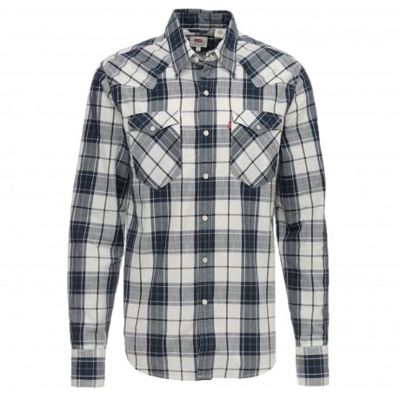 Levis Barstow Western Men's Shirt Dress Blues | Jean Scene