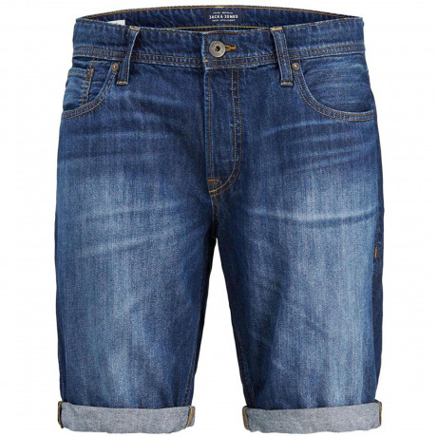 Jack & Jones Men's Intelligence Denim Shorts Blue | Jean Scene