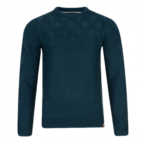 Tokyo Laundry Crew Neck Connolly Knitted Jumper Teal