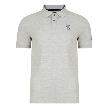 Firetrap Men's Polo Shirt Canham Grey Marl