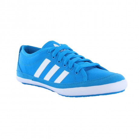 adidas Nizza Remodel Canvas Trainers Blue Image