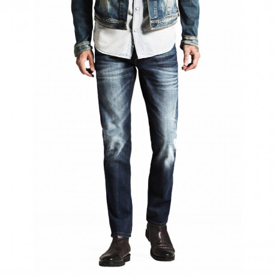 Jack & Jones Mike Original Comfort Fit Jeans Dark Blue Denim