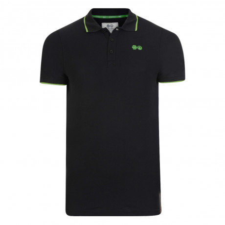 Crosshatch Kaneta Men's Polo Shirt Shirt Black