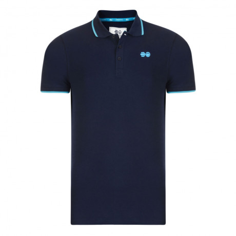 Crosshatch Kaneta Men's Polo Shirt Shirt Iris Navy Marl