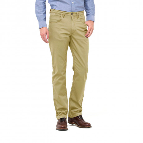 Lee Brooklyn Stretch Soft Fabric Jeans Olive Grey Beige