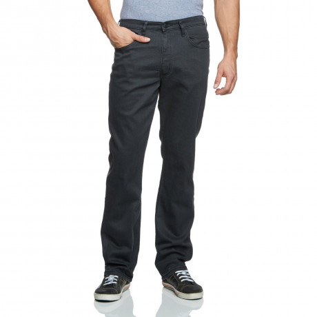 Lee Brooklyn Stretch Denim Jeans Grey Spark