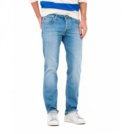 Lee Powell Low Slim Fit Denim Jean Caribbean Ocean
