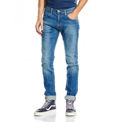 Lee Luke Slim Tapered Fit Denim Jeans Authentic Blue