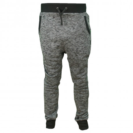 Soul Star Fleece Sweat Pants Clumber Bottoms Charcoal