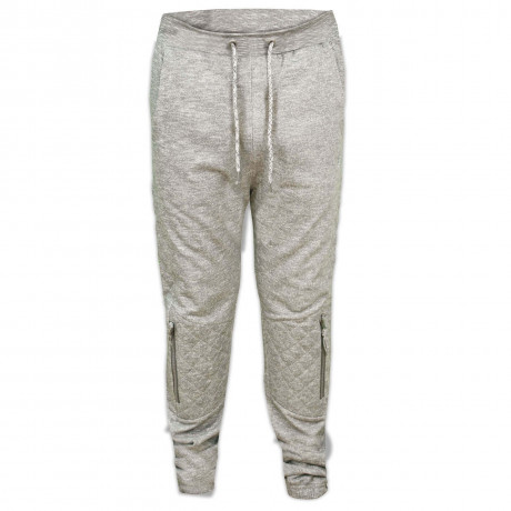 Soul Star Fleece Sweat Pants Elwood Bottoms Mid Grey