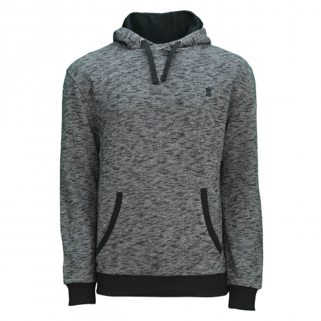 Soul Star Clumber Overhead Hooded Sweatshirt Charcoal
