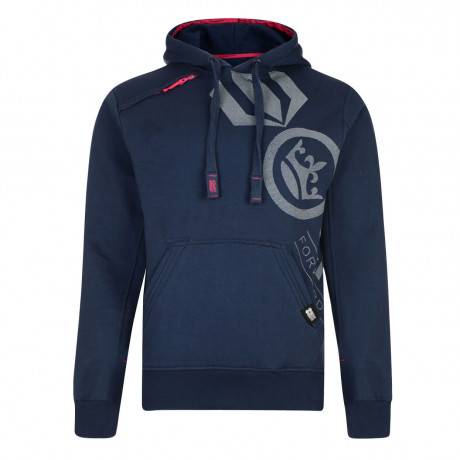 Crosshatch Pacific Hoodie Insignia Blue