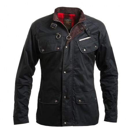 Ringspun Men's Scramble Cotton Field Jacket Black