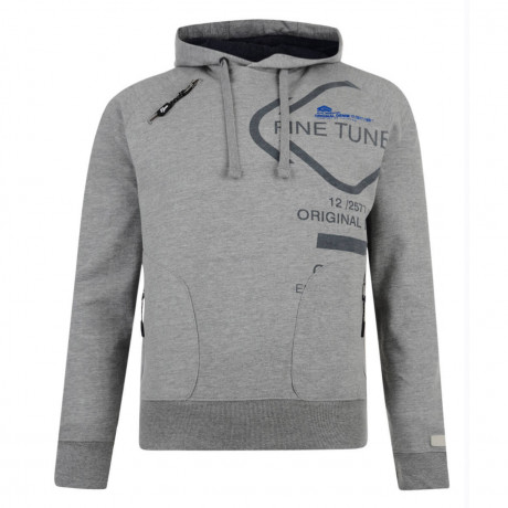 Smith & Jones Tuned Hoodie Mid Grey