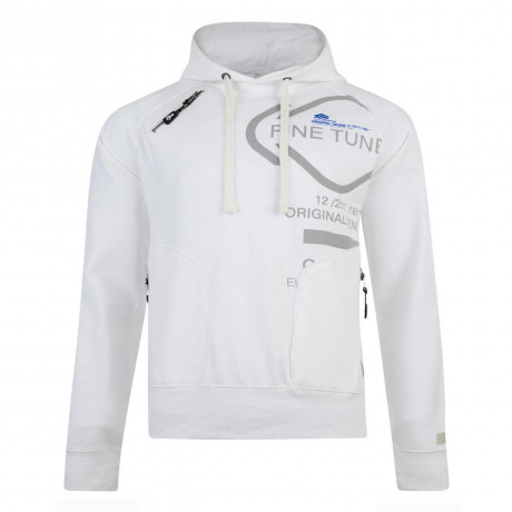 Smith & Jones Tuned Hoodie White